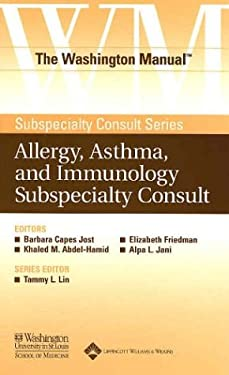 The Washington Manual(r) Allergy, Asthma, and Immunology Subspecialty Consult 9780781743747
