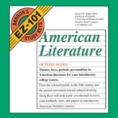 American Literature 9780786175970