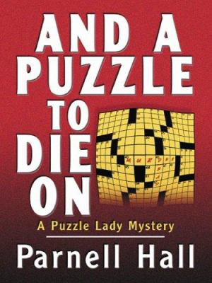 And a Puzzle to Die on 9780786278909