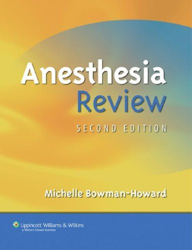 Anesthesia Review 9780781794442