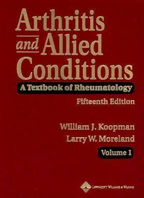Arthritis and Allied Conditions: A Textbook of Rheumatology 9780781746717