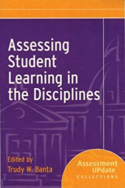 Assessing Student Learning in the Disciplines: Assessment Update Collections 9780787995720
