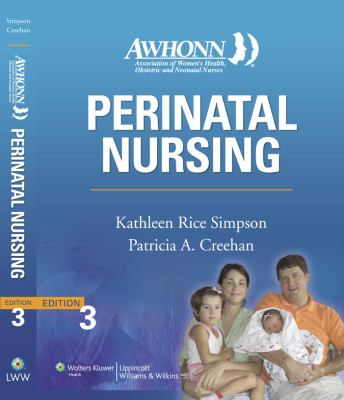 Awhonn Perinatal Nursing 9780781767590
