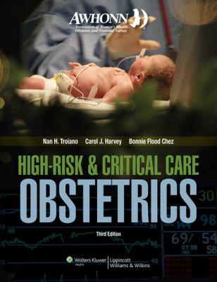 Awhonn High-Risk & Critical Care Obstetrics 9780781783347