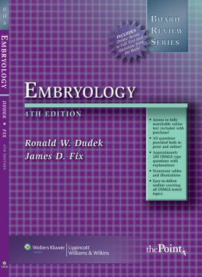 BRS Embryology 9780781771160