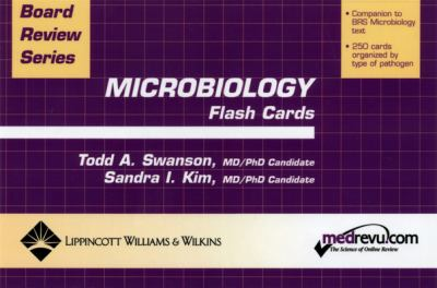 BRS Microbiology Flash Cards 9780781744270