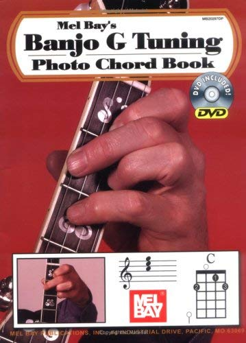 Banjo G Tuning Photo Chord Book [With DVD]