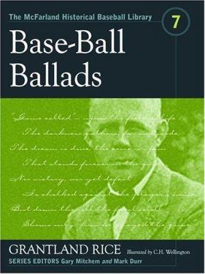 Base-Ball Ballads 9780786420384