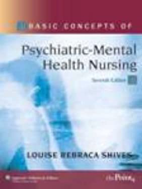 Basic Concepts of Psychiatric-Mental Health Nursing [With CDROM] 9780781797078