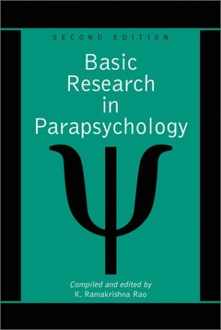 Basic Research in Parapsychology 9780786410088