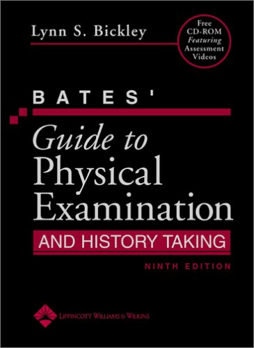 Bates' Guide to Physical Examination and History Taking 9780781767187