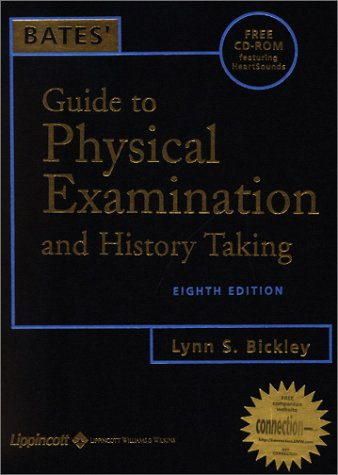 Bates' Guide to Physical Examination and History Taking [With CDROM] 9780781735117