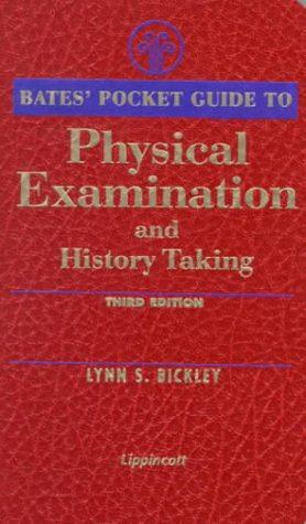 Bates' Pocket Guide to Physical Examination and History Taking 9780781718691