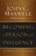 Becoming a Person of Influence 9780785288398