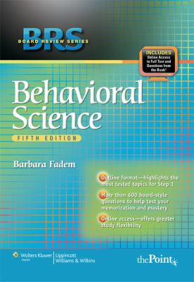 Behavioral Science 9780781782579
