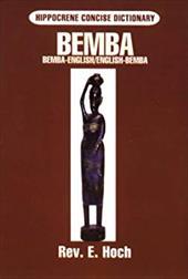 Bemba-English/English-Bemba Compact Dictionary