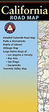 Benchmark California Road Map 9780783499048