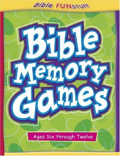 Bible Memory Games 9780781441193