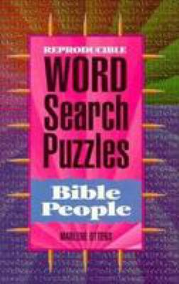 Bible People Word Search Puzzles 9780784704585
