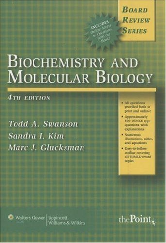 Biochemistry and Molecular Biology 9780781786249