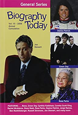 Biography Today General: Annual Cumulation 9780780808157