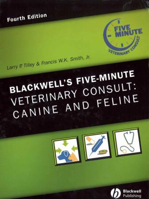 Blackwell's Five-Minute Veterinary Consult: Canine and Feline [With CDROM] 9780781773607