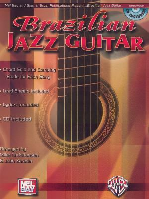 Brazilian Jazz Guitar: Book & CD 9780786670239