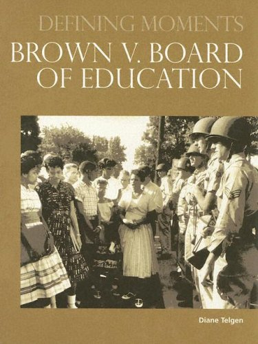 Brown V. Board of Education 9780780807754