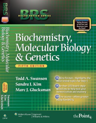 BRS Biochemistry, Molecular Biology, and Genetics [With Access Code] 9780781798754