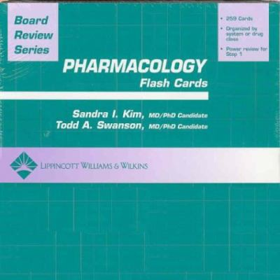 BRS Pharmacology Flash Cards 9780781747967