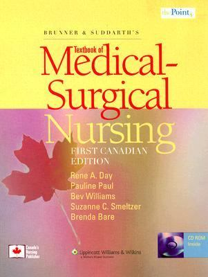 Brunner & Suddarth's Textbook of Medical-Surgical Nursing: Canadian Edition [With CDROM] 9780781791304