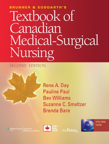 Brunner and Suddarth's Textbook of Canadian Medical-Surgical Nursing [With DVD ROM and Access Code] 9780781799898