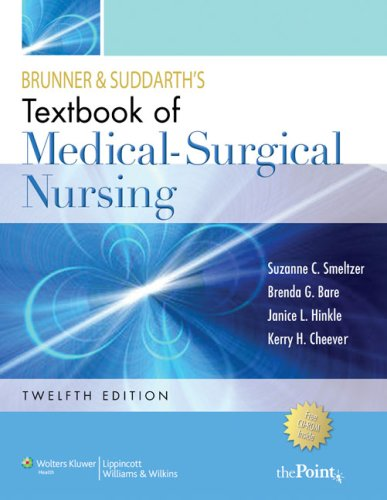 Brunner and Suddarth's Textbook of Medical-Surgical Nursing 9780781785891