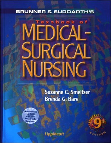 Brunner and Suddarth's Textbook of Medical-Surgical Nursing 9780781741545