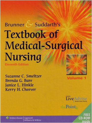 Brunner and Suddarth's Textbook of Medical-Surgical Nursing 9780781766951