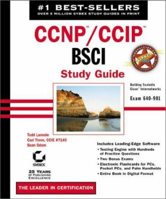 CCNP: Bsci Study Guide (Book with CD-ROM) [With CDROM] 9780782140958