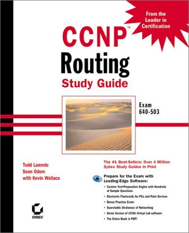 CCNP: Routing Study Guide Exam 640-503 [With CDROM] 9780782127126
