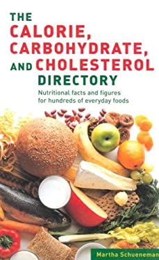 Calories, Carbohydrates, Cholesterol Directory