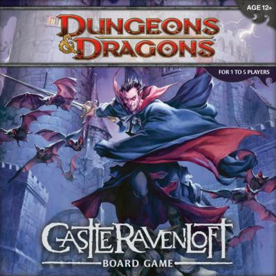 Dungeons & Dragons: Castle RavenLoft Board Game [With 20-Sided Die and 200 Encounter, Monster, and Treasure Cards and Tiles, Markers, Tokens and Ru