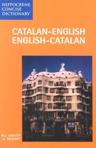 Catalan-English/English-Catalan Concise Dictionary 9780781800990