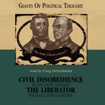 a brief review of henry thoreaus civil disobedience Thoreau in our time: henry david thoreau and civil disobedience, yale review 91 (october 2005): 1-17 a brief biography, sierra club.