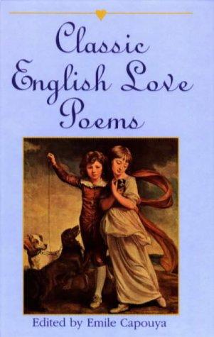 Classic English Love Poems 9780781805728