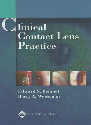 Clinical contact lens practice by edward s bennett barry a clinical contact lens practice fandeluxe Gallery