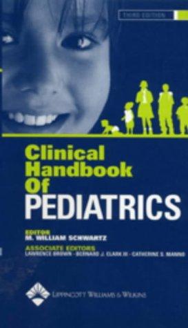 Clinical Handbook of Pediatrics 9780781736497
