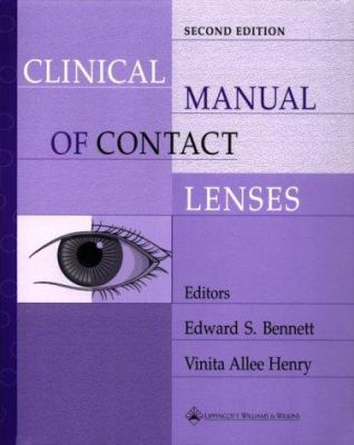 Clinical Manual of Contact Lenses 9780781719513