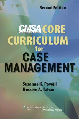 Cmsa Core Curriculum for Case Management 9780781779173