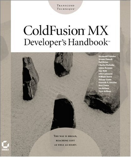 Coldfusionmx Developer's Handbook 9780782140293