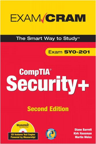 CompTIA Security+ Exam Cram [With CDROM] 9780789738042