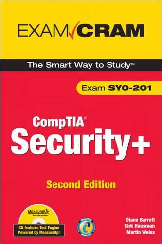 CompTIA Security+ Exam Cram [With CDROM]