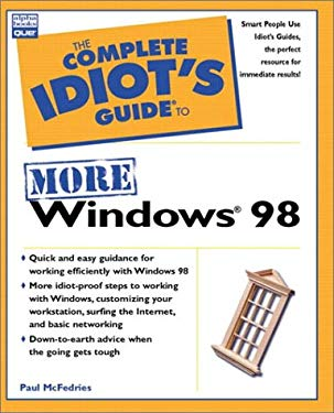 Complete Idiot's Guide to More Windows 98 9780789717399